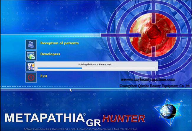 Metapathia GR Hunter 4025 nls 18D health analyzer