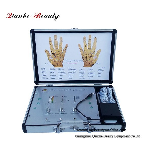 Hand microcomputer treatment scanners