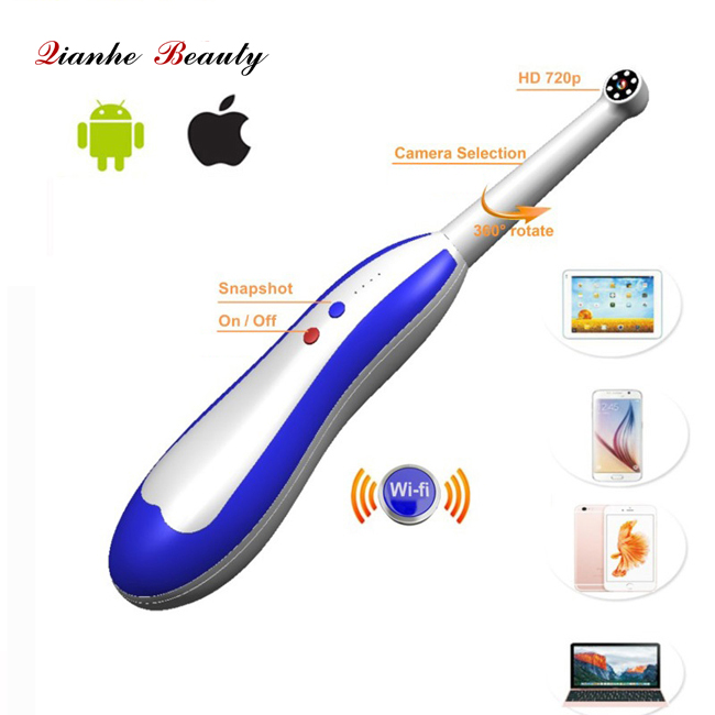 Wireless wifi dental intraoral camera