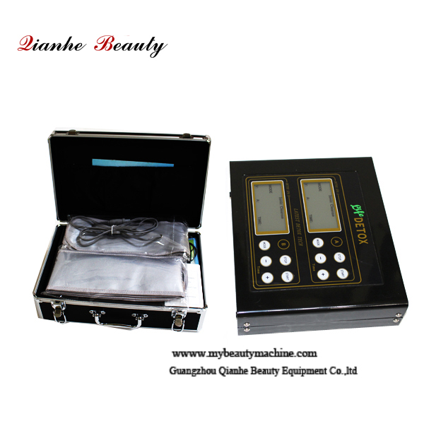Large LCD display ionic foot detox machine