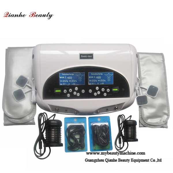 Double system 3 in 1 ion infrared therpay detox machine