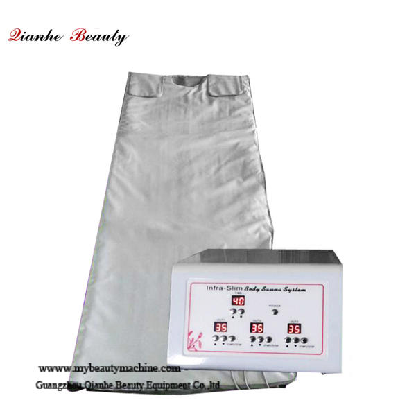 3 zone far infrared blanket slimming machine