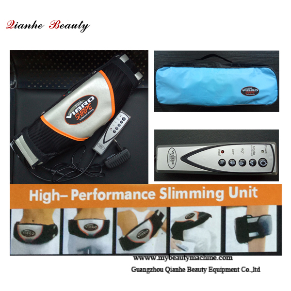 Vibration massage slimming belt
