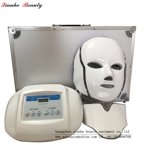 Red blue led light facial mask