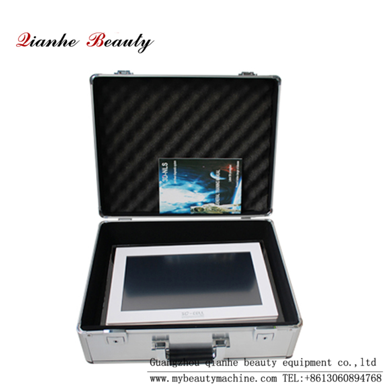 Touch screen 3D nls analyzer