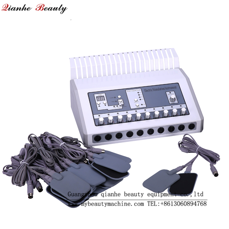 electronic muscle stimulation machine with heating
